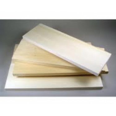 2.5x2.5x915mm Basswood Lime Strip (1)